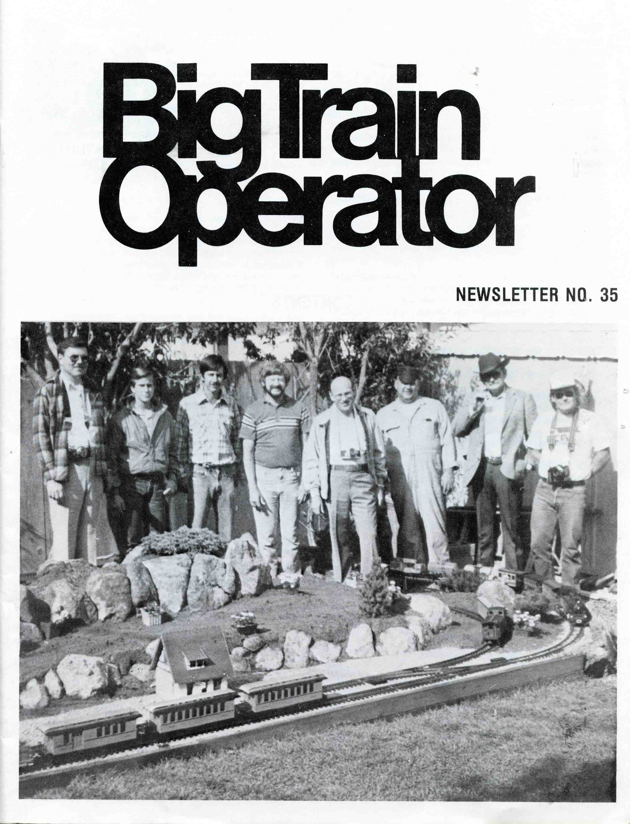 (c) 1985, LGB Model Railroad Club