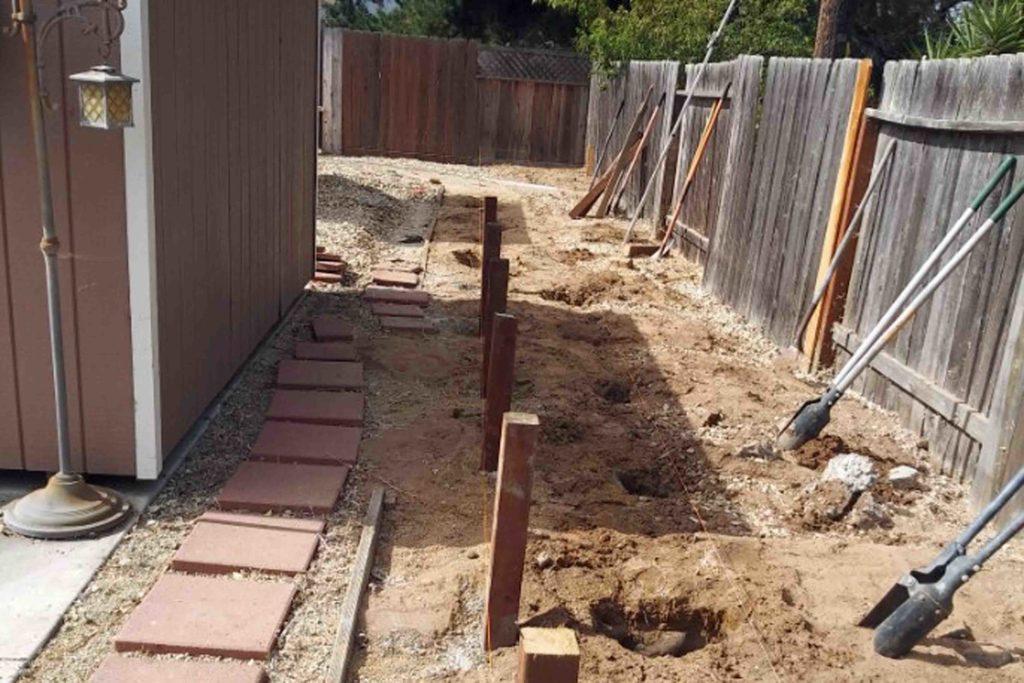 Garden railroad construction